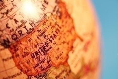 United_States_on_globe
