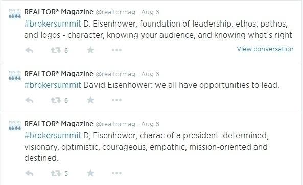 Eisenhower tweet brk sum
