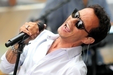 Marc Anthony performing on  on NBC ''Today'' show concert Series