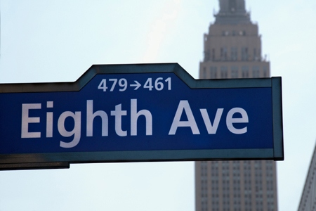 Eighth Avenue in NYC