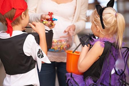 Trick or treat - childhood activities