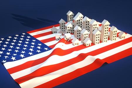 Illustration of United States real-estate development
