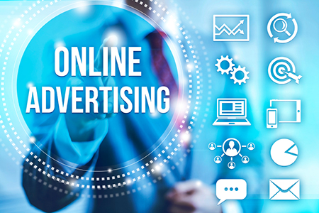 Online advertising concept