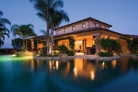 Great Spaces: San Diego Luxury Estate Complete with Lazy River