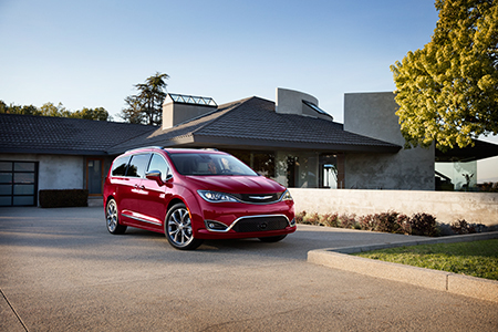 Receive $500 Cash Allowance for the All-New Chrysler Pacifica