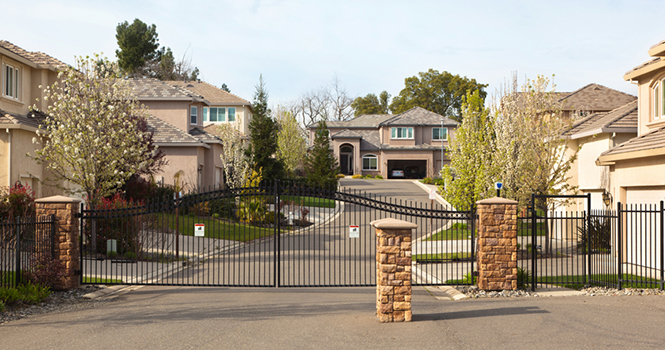 gated community homes demand higher prices rismedia
