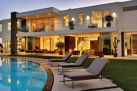 L.A. Reid Lives It Up in LA Mega Mansion