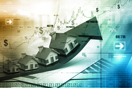 USA home prices rose modestly in July