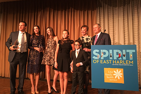 Halstead CEO Diane Ramirez and Family Honored at Gala