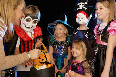 The Top 10 Cities for Trick-or-Treaters