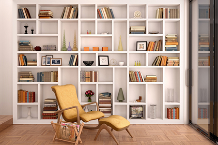 5 Tips for Decorating With Books