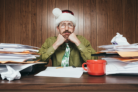 At Work on Christmas? It's Not Just You