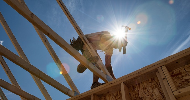 Home-Building Slides in March, but Permits Show Promise