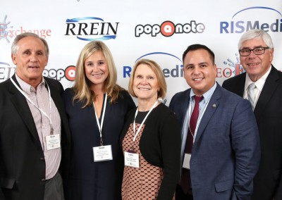 RISMedia CEO Exchange 2016: From left to right: Kevin Thomas and Seton McKeon with BHHS Zack Shore REALTORS®; Laura Rubinfeld and Jorge Ledesma with Eastern Bergen County Board of REALTORS®; and Mike Basile with BHHS Montana Properties