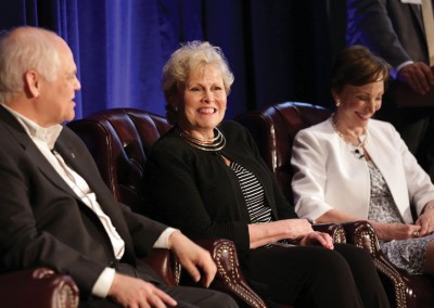 RISMedia CEO Exchange 2016: From left to right: McEnearney Associates' David Howell; LeadingRE's Pam O'Connor; and Halstead Property's Diane Ramirez predict 'The Future of Homeownership.'