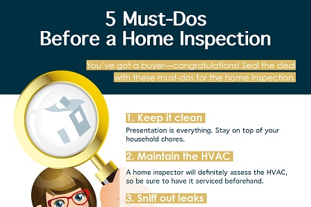 5 Must-Dos Before a Home Inspection