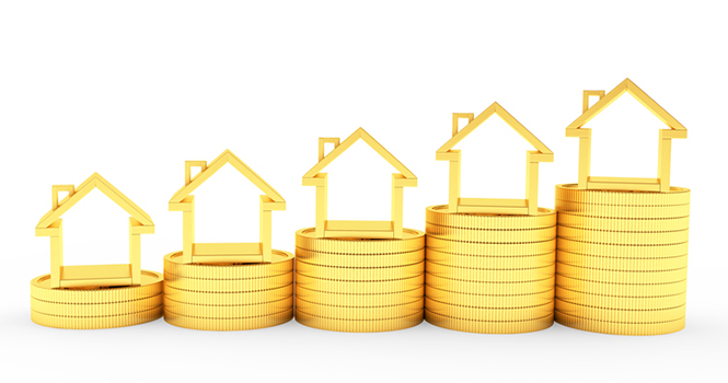 Home Prices Mount at Slower Pace