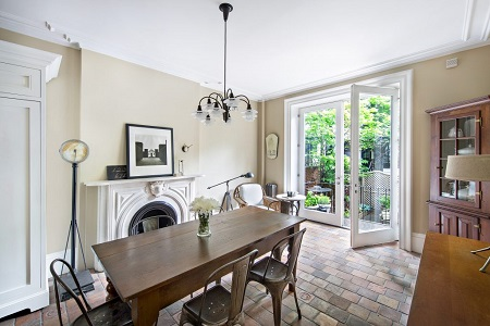 Great Spaces: Historic Brownstone in Gramercy Park