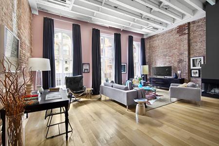 Sunny Split-Level Tribeca Condo for Sale