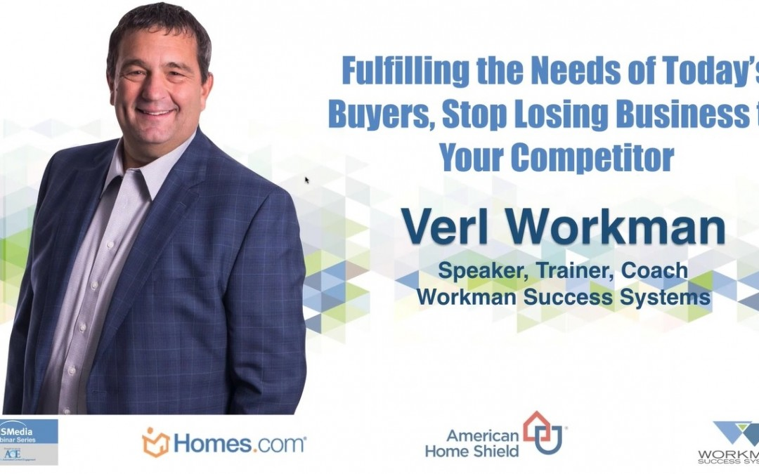 Don't Lose Business to Your Competition Fulfilling Needs of Today's Buyers