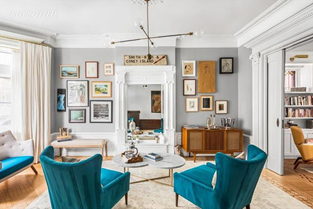 Great Spaces: Emily Blunt and John Krasinski's Park Slope Pad