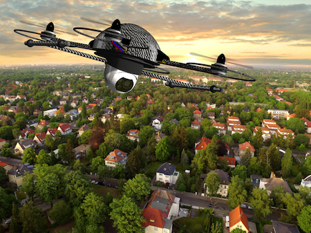 Will Your Next Home Insurance Adjustor be a Drone?