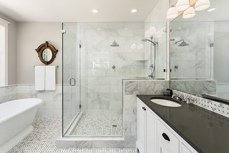 All About Clean: Master Bathroom Trends