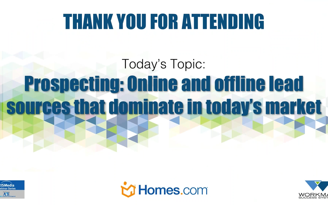 Prospecting Online and Offline Lead Sources That Dominate in Todays Market