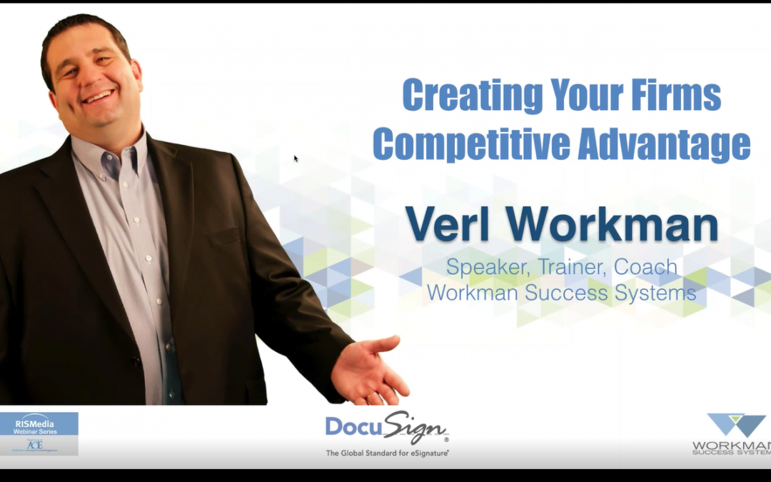 Creating your Firm's Competitive Advantage