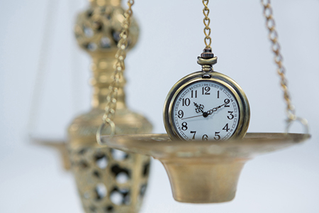 Balancing Time to Best Serve Clients
