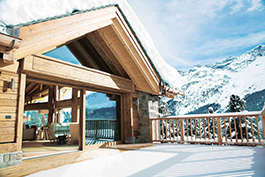 This mansion with panoramic Alpine views is currently for sale on the Suvretta-Hang, the prime location in St. Moritz. The property has an interior of some 1,680 square meters, with 10 bedrooms and 12 bathrooms. The property also has a 30 square meter terrace and a private spa with an indoor pool. Image Credit: Engel & Völkers St. Moritz