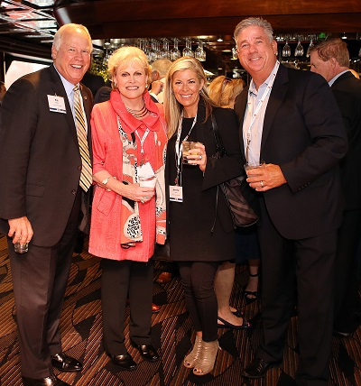 At RISMedia's 2017 CEO Exchange (from left to right): Allen Tate Companies' Pat Riley; Pam O'Connor; John L. Scott's Jennifer Lind; and Fillmore Real Estate's John Reinhardt