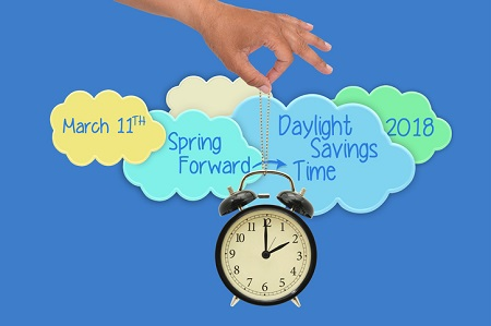 Don't Forget: Set Your Clocks Ahead This Weekend