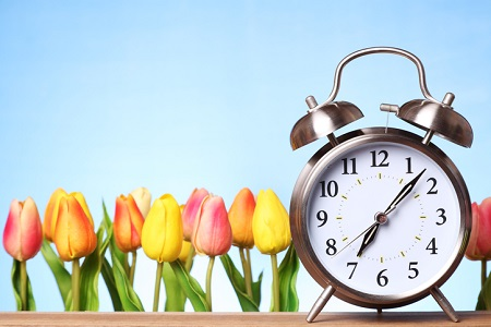 Spring Forward: Daylight Savings Time Begins Sunday