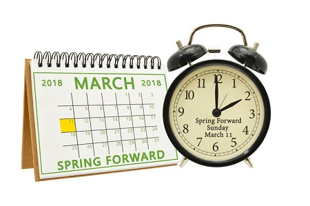 Prepping to Set the Clocks Ahead This Weekend