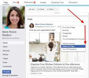 how-to-delete-facebook-post