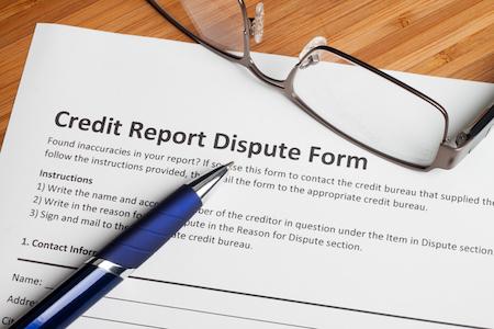 How to Dispute Credit Report Errors