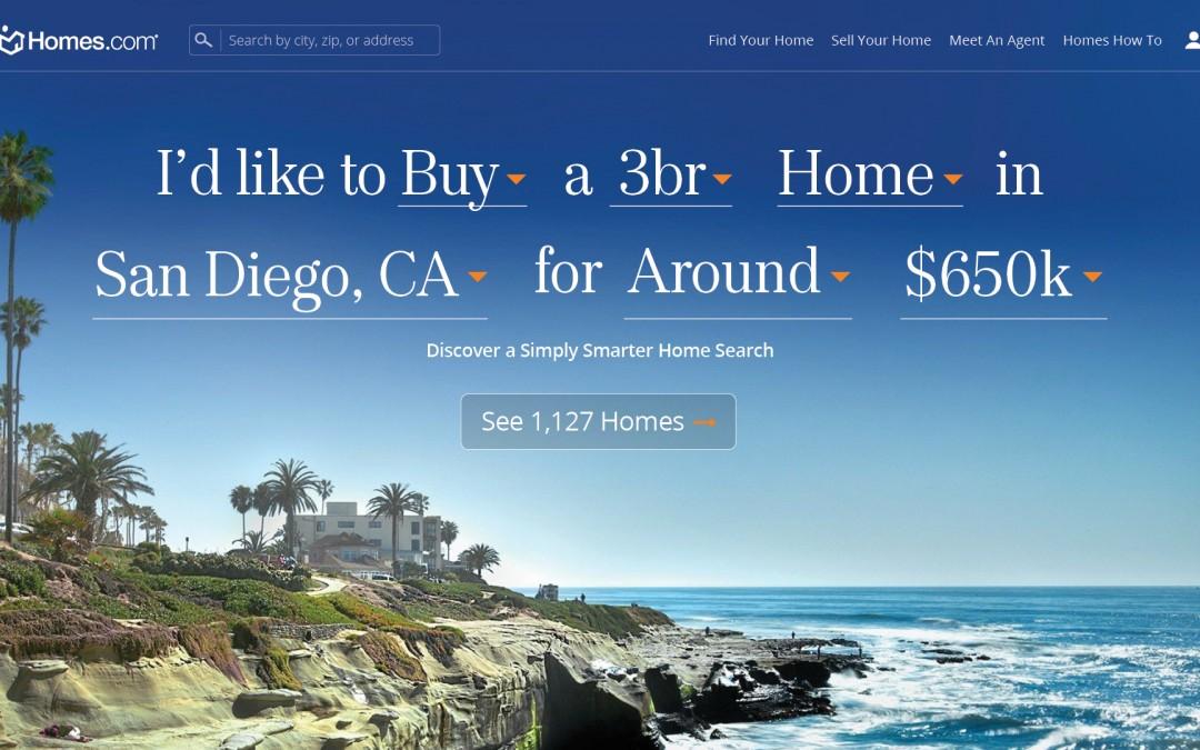 Homes.com Debuts New Website