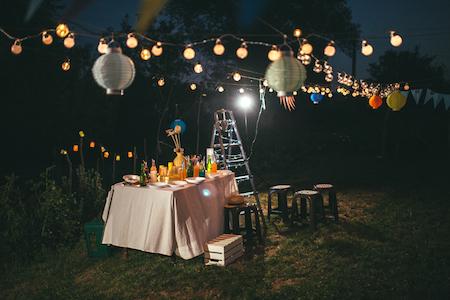 How to Have a Wedding in Your Own Backyard