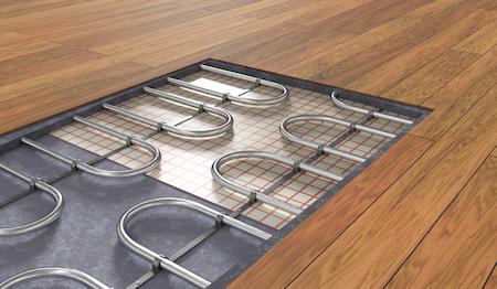 Electric vs. Water-Based Heated Flooring