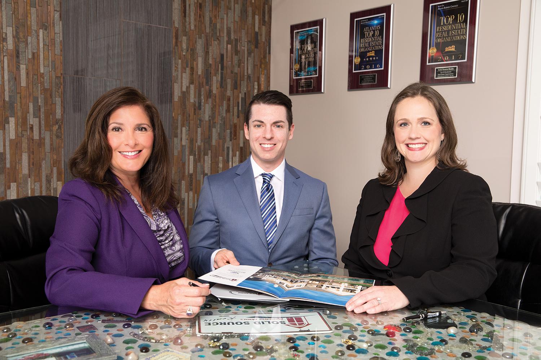 (L to R) Michele Velchek, Founder; Derek Varnadoe, Vice President; Rebecca Meredith, President, Solid Source