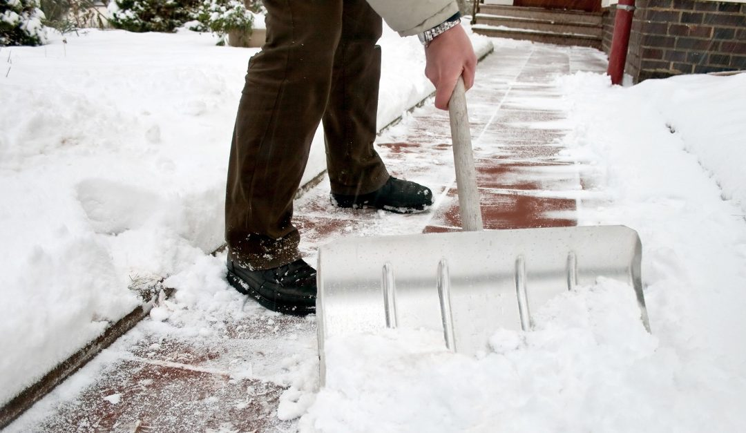 Keeping Walkways Ice-Free and Safe During Your Sale