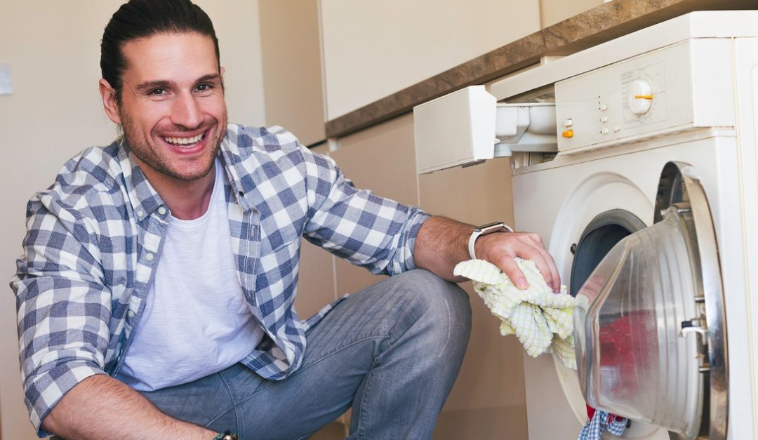 How to Cope With a Tiny Laundry Room
