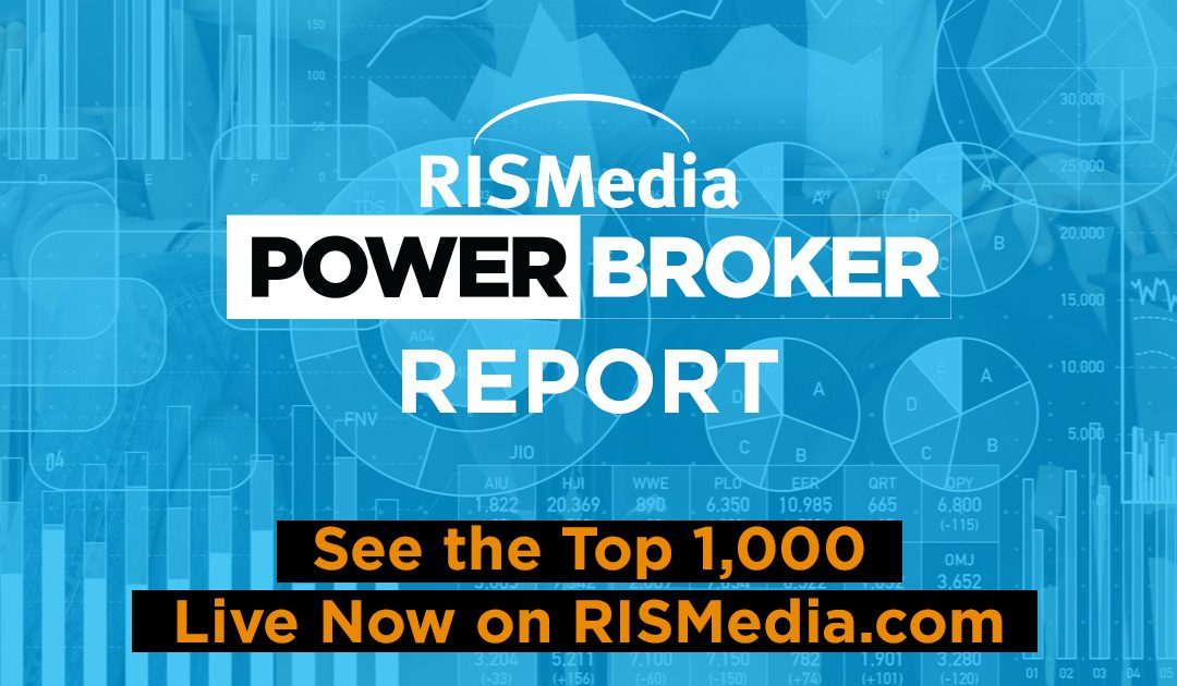 RISMedia Releases Second Wave of Power Broker Report—Top 1,000—With Interactive Directory