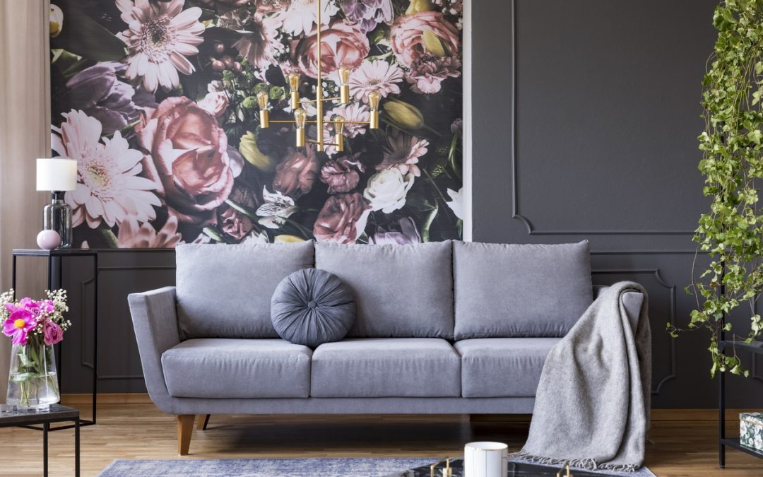 5 Themes for Hand-Painted Wallpaper