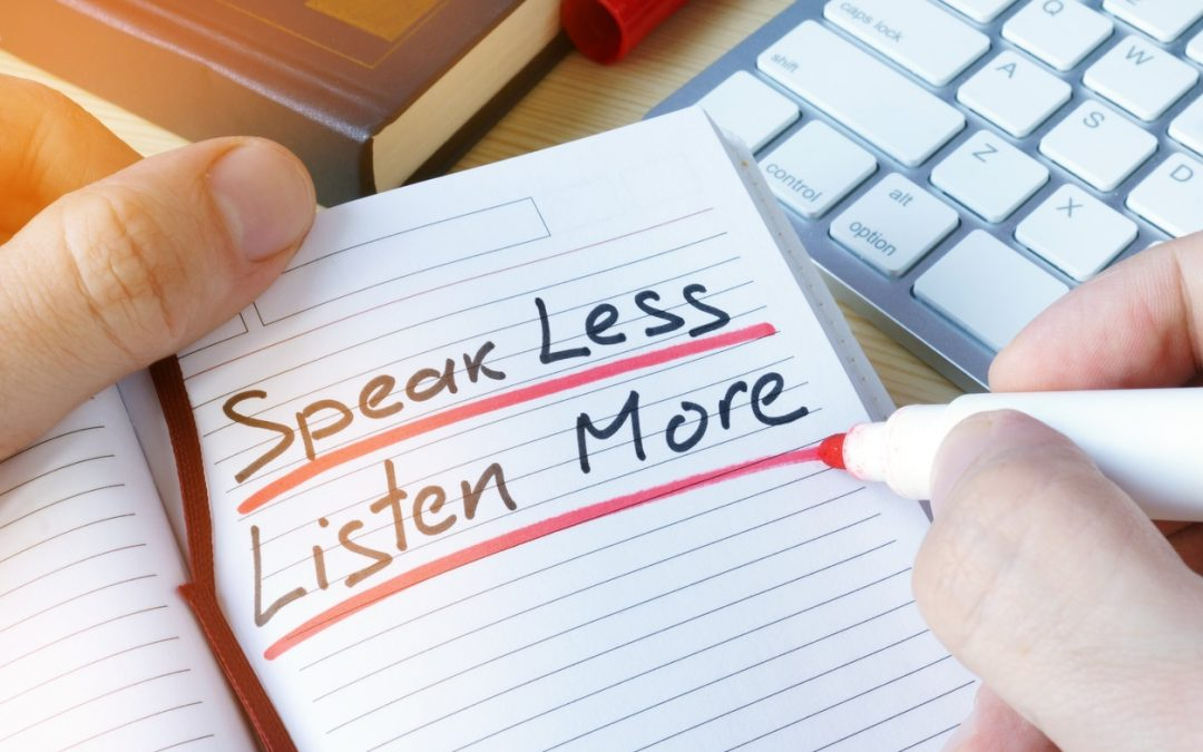 New Agents: 4 Steps to Becoming a Better Listener