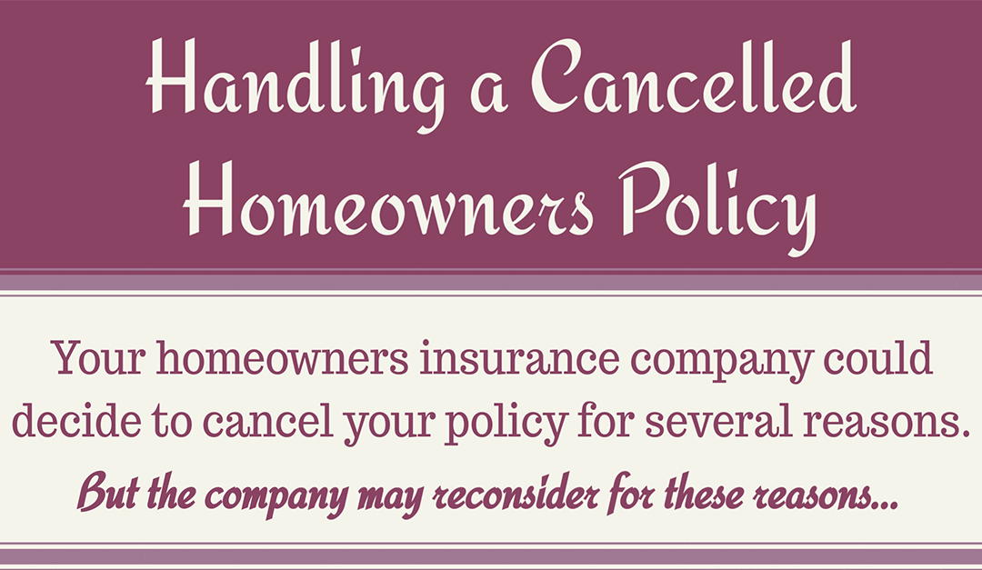 Handling a Cancelled Homeowners Policy