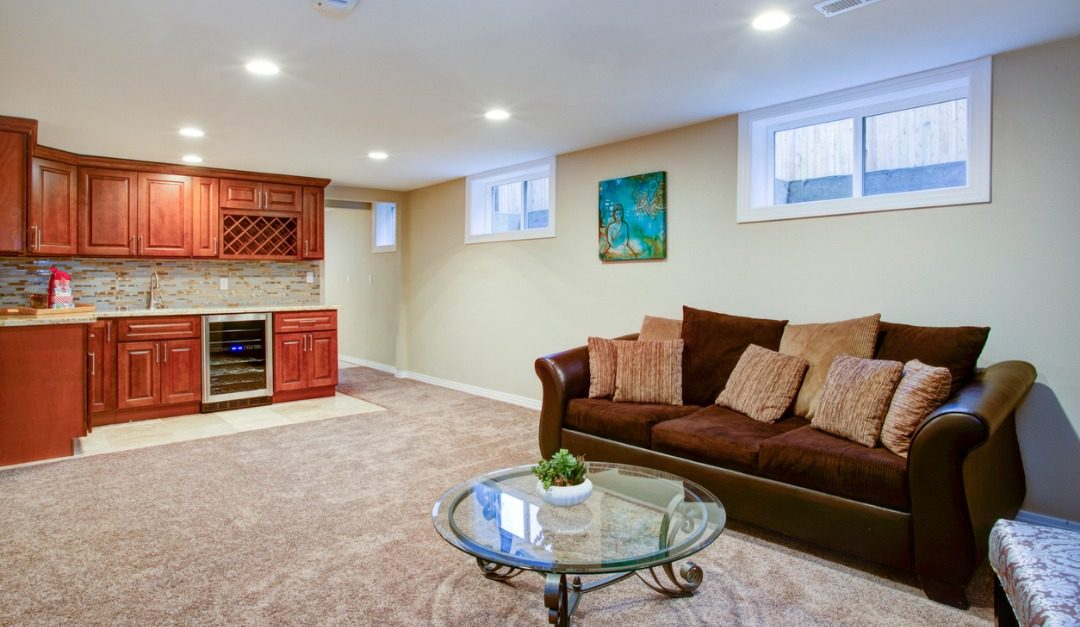 How to Stage an Unused Basement