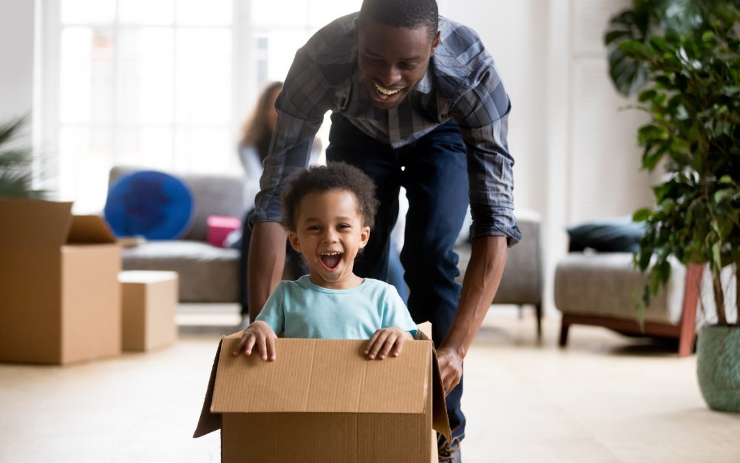 How to Make Moving Easier for Young Children