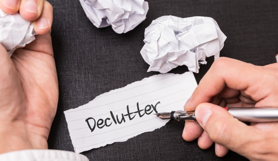 Decluttering Before You Move